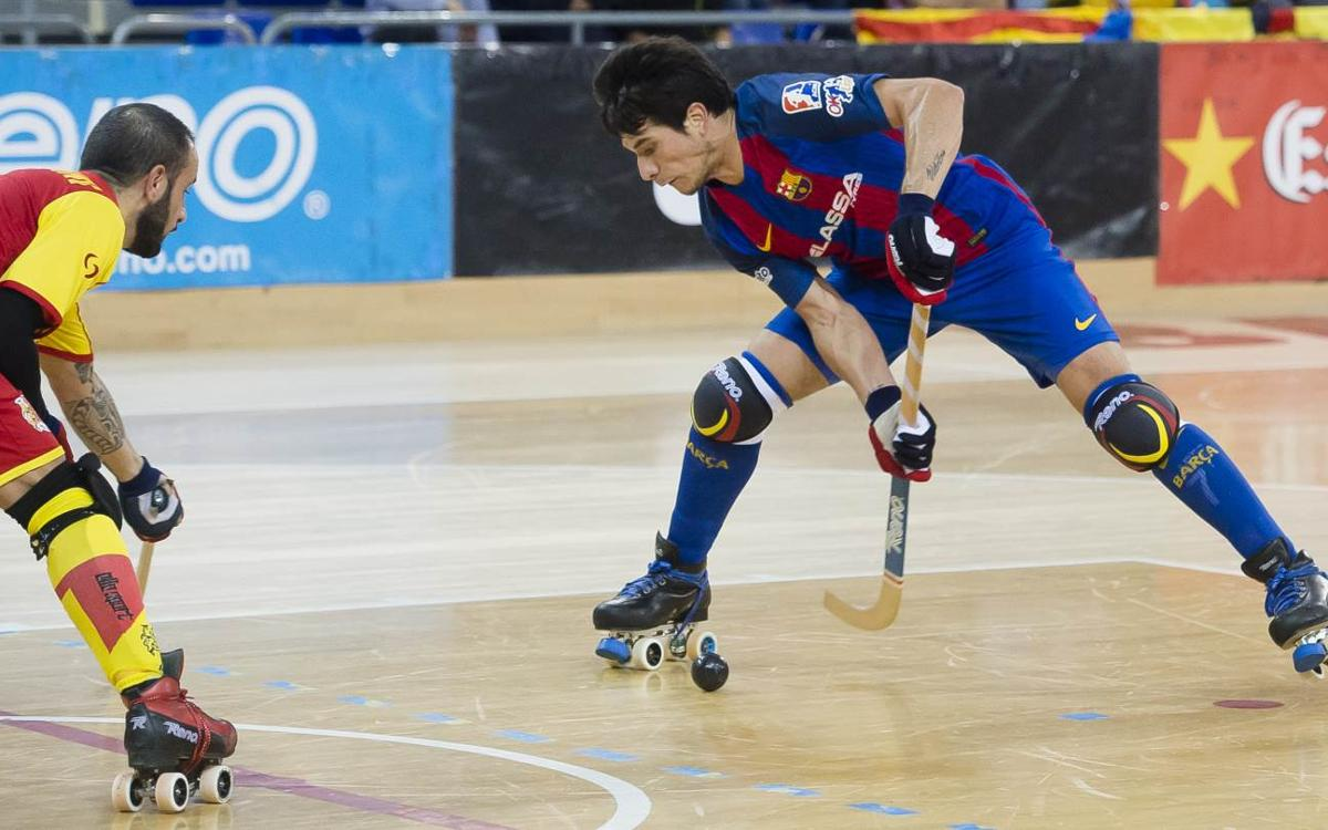 Hockey Bassano v FC Barcelona Lassa: Blaugranas through to quarters following victory (2-3)