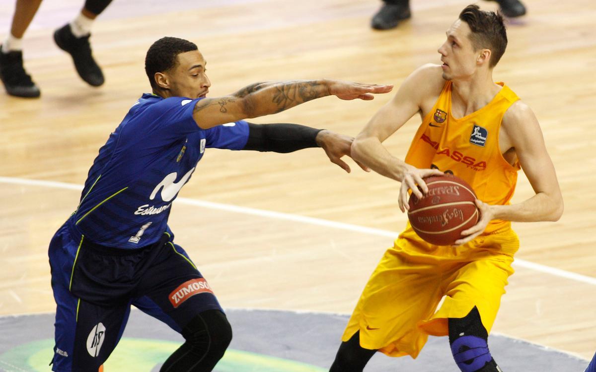 Movistar Estudiantes - FC Barcelona Lassa: La pròrroga evita la victòria culer (83-81)