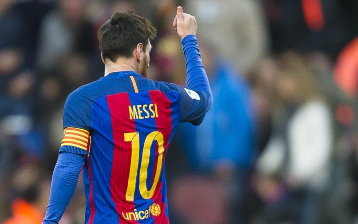 Nouveau record pour Messi, qui a désormais marqué contre 35 adversaires en Liga avec le FC Barcelone