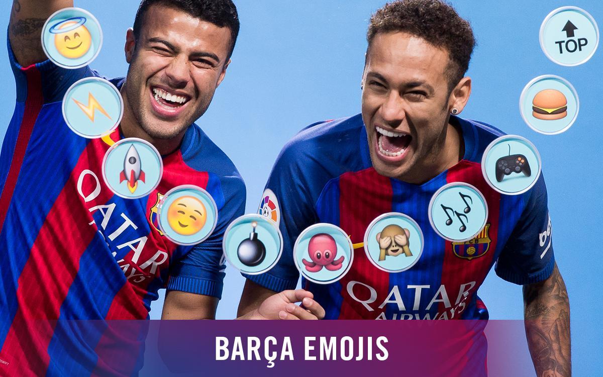ネイマールJrとラフィーニャが絵文字でチームメートを表現したら?