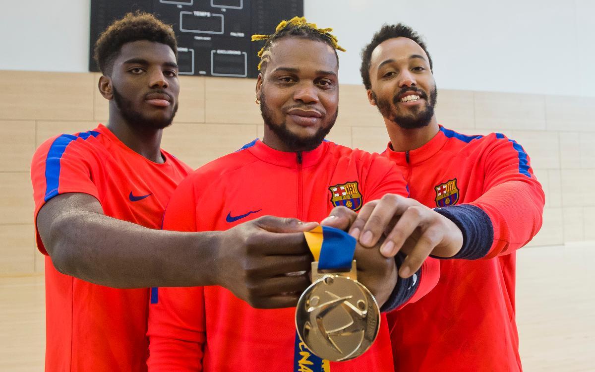 Les champions du monde de hand sont de retour avec le Barça Lassa