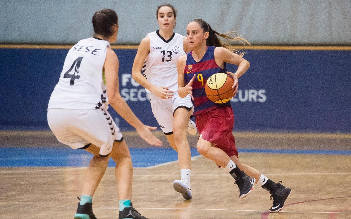 Barça CBS - CN Terrassa: Certifiquen la primera posició a la 1a fase (73-57)