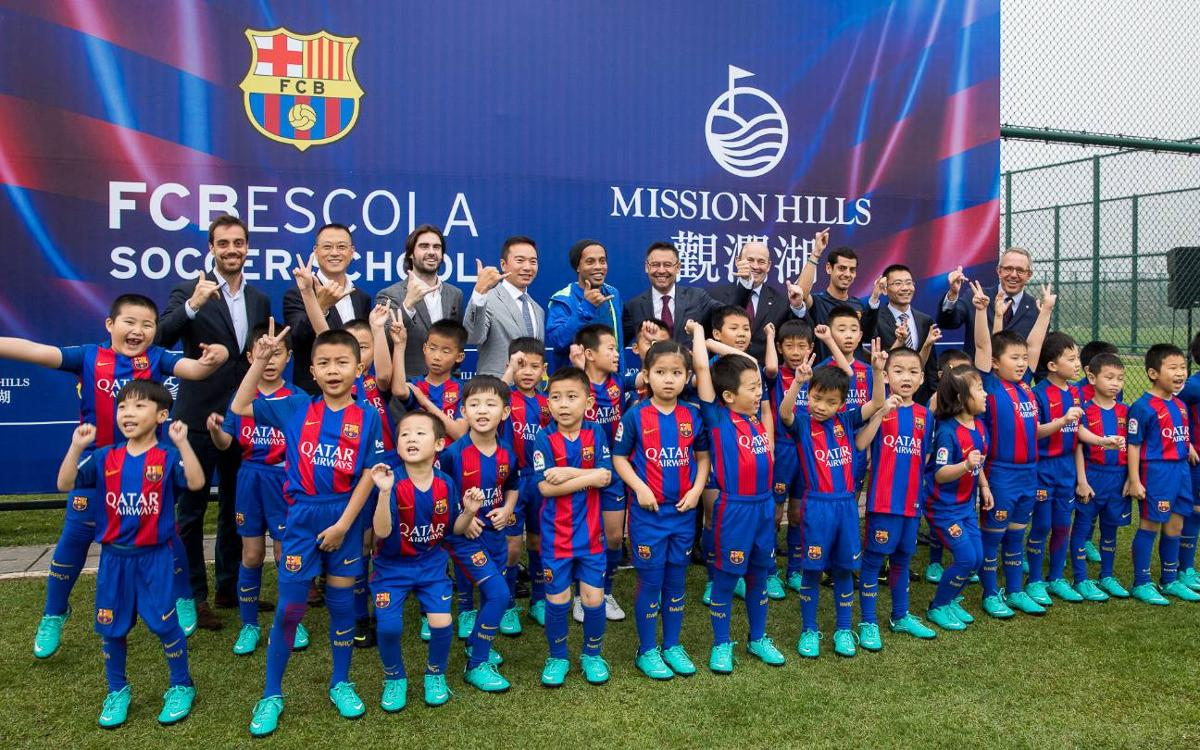 FC Barcelona begins institutional visit to China with widespread media attention