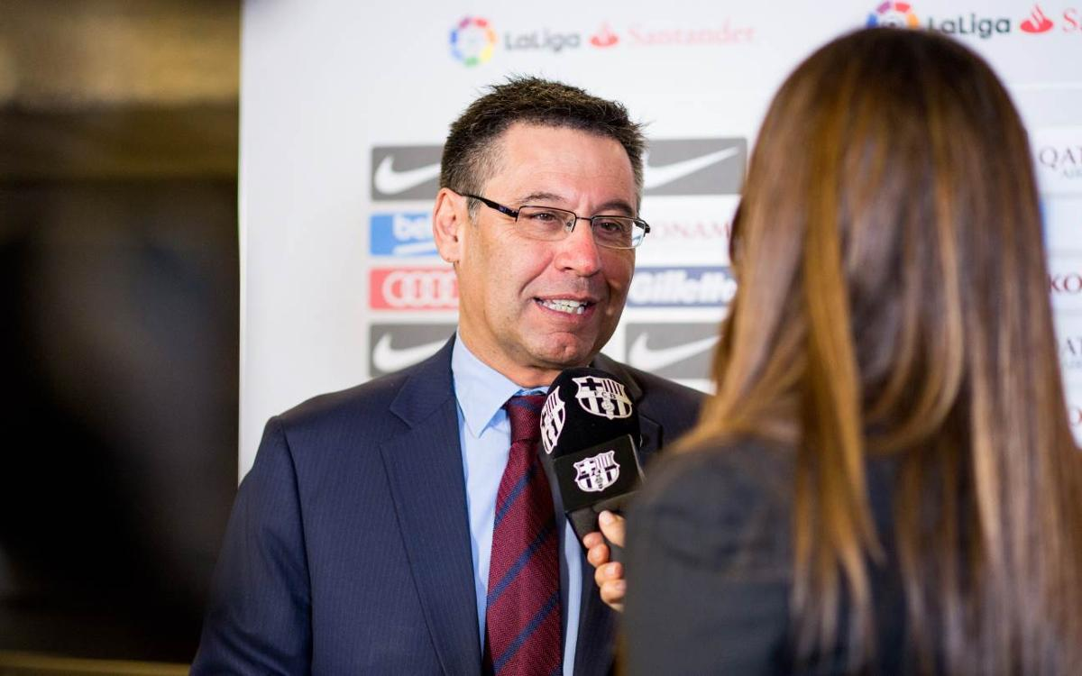 Bartomeu: We have confidence in the team
