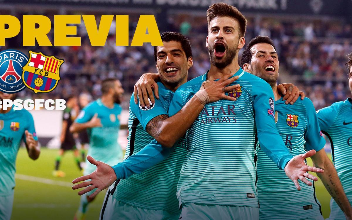 PSG- FC Barcelona: ¡Oh là là...Champions League, je t'aime!