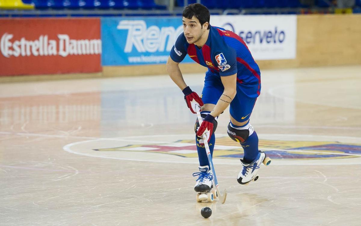 Lucas Ordoñez, amb molèsties a la cama dreta