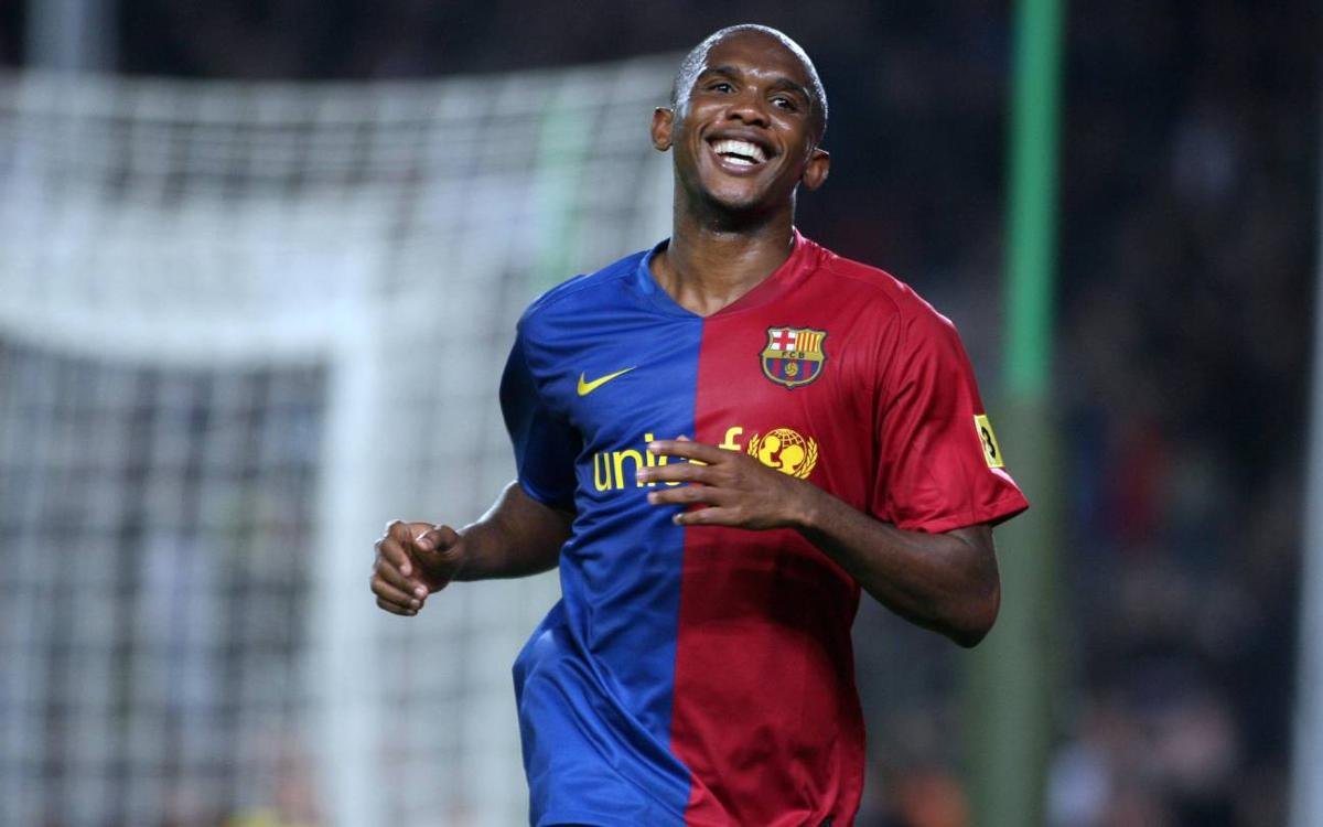 Samuel Eto'o: del Leganés al Camp Nou