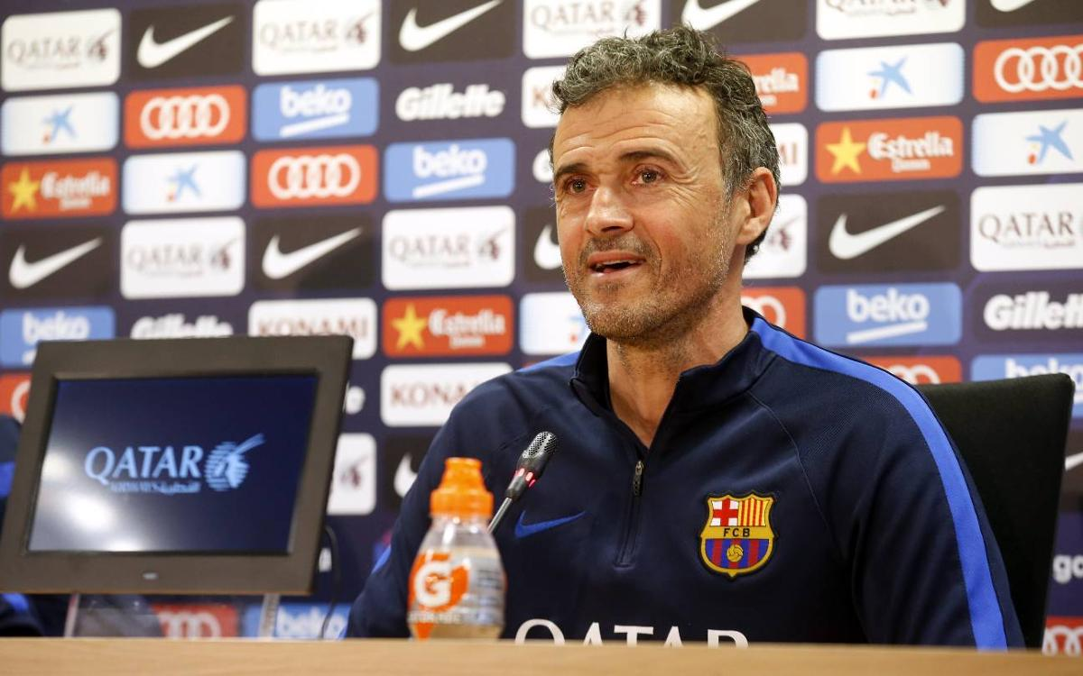 Luis Enrique: 'Alavés are one of the revelations of the season'