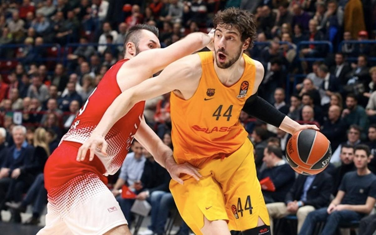 EA7 Emporio Armani Milan v FC Barcelona Lassa: Back on form away from the Palau (78-83)