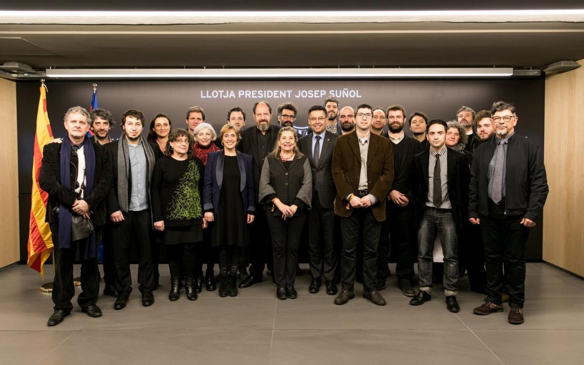 El cinema català, a la Llotja President Suñol