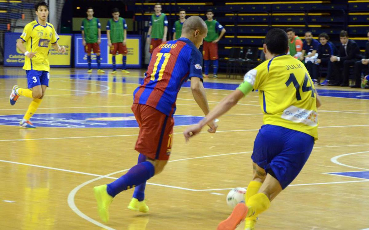 Gran Canaria FS 6-6 FC Barcelona Lassa: Three late goals destroy big lead