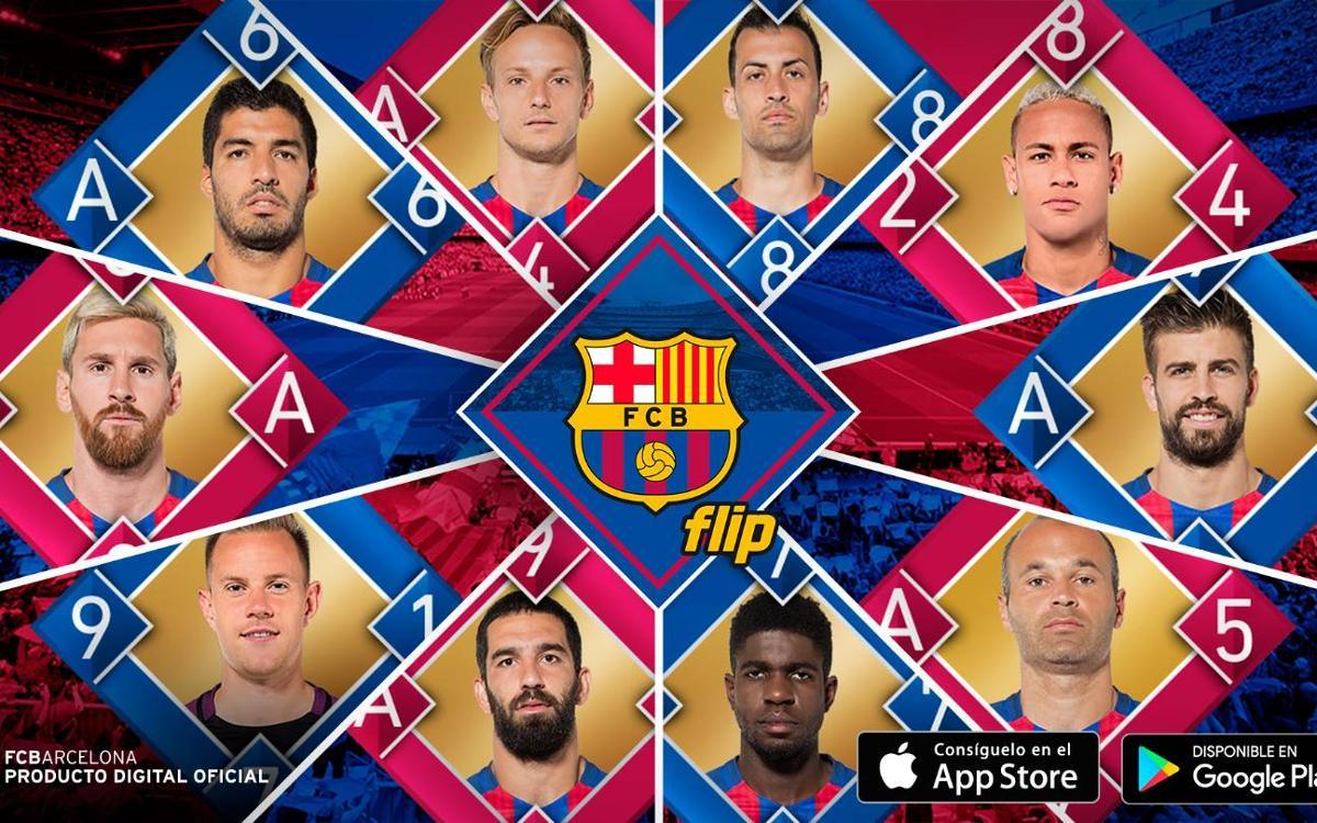 FC Barcelona Flip, el nuevo juego de cartas virtual para los aficionados culés