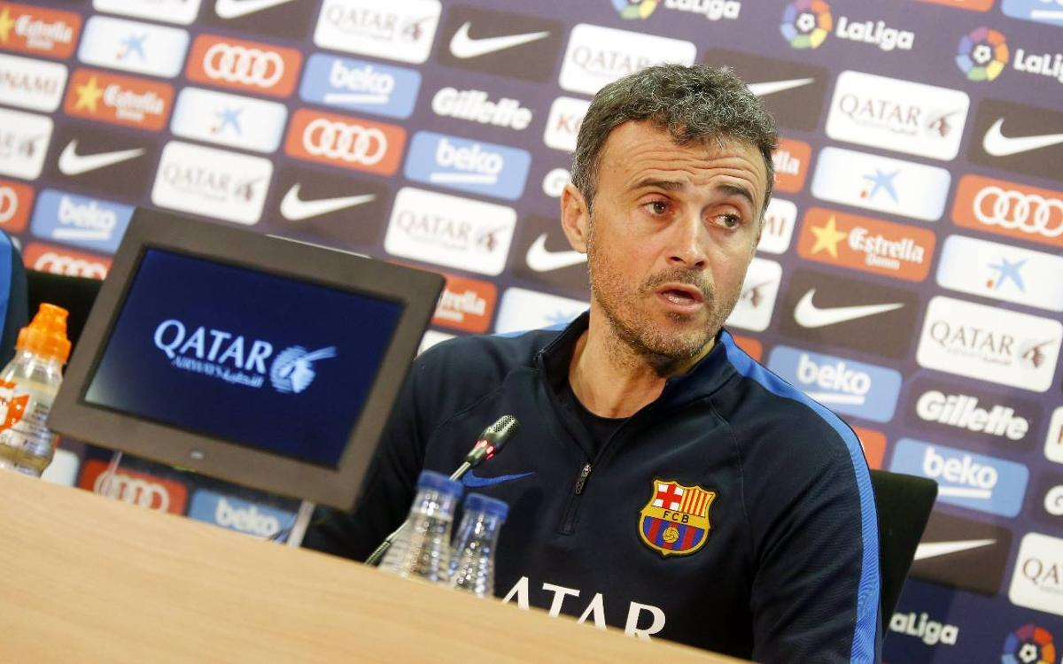 Luis Enrique waiting on fitness of Iniesta, Busquets and Digne