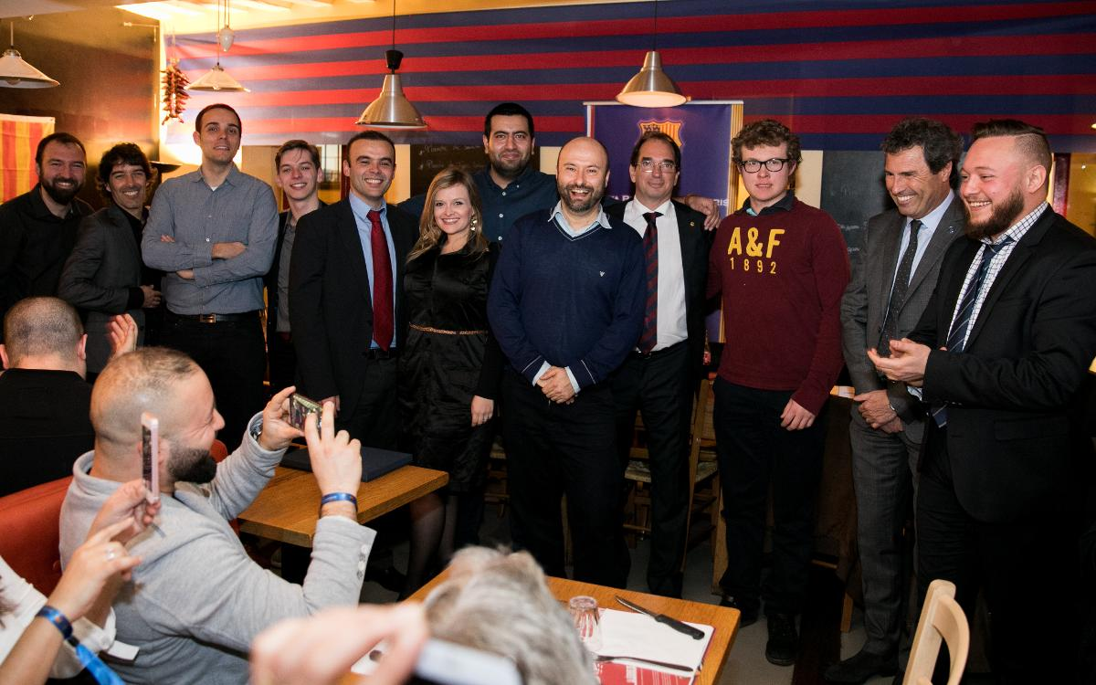 Supporters Club dinner ahead of PSG-Barça