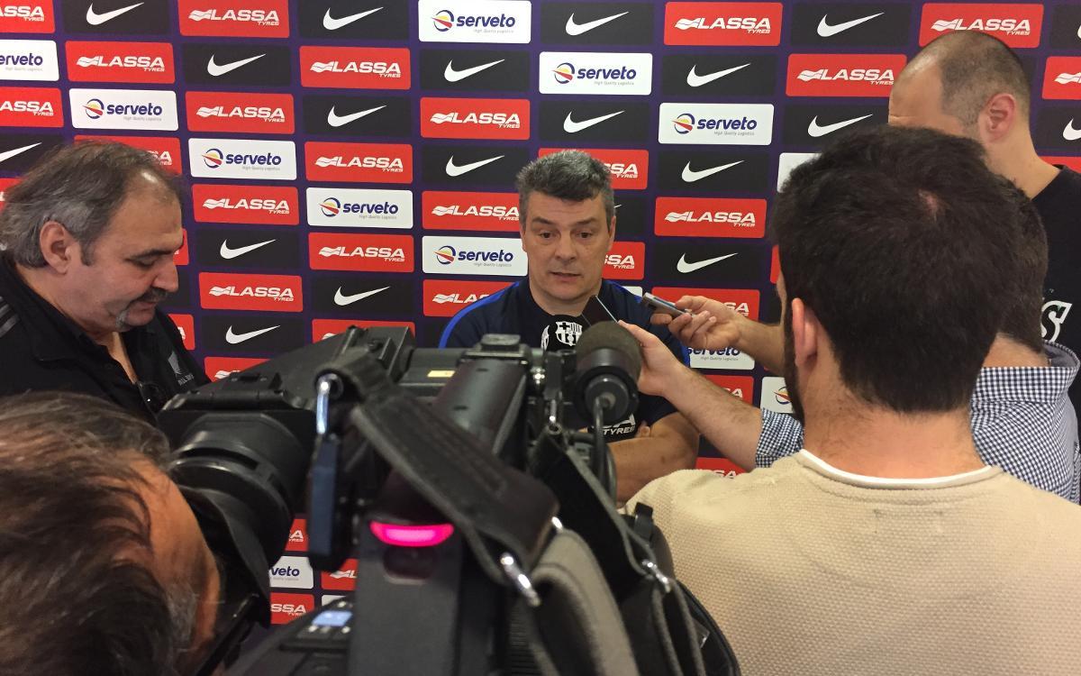 """Pascual: """"El Flensburg és un equip capaç de guanyar la Champions"""""""