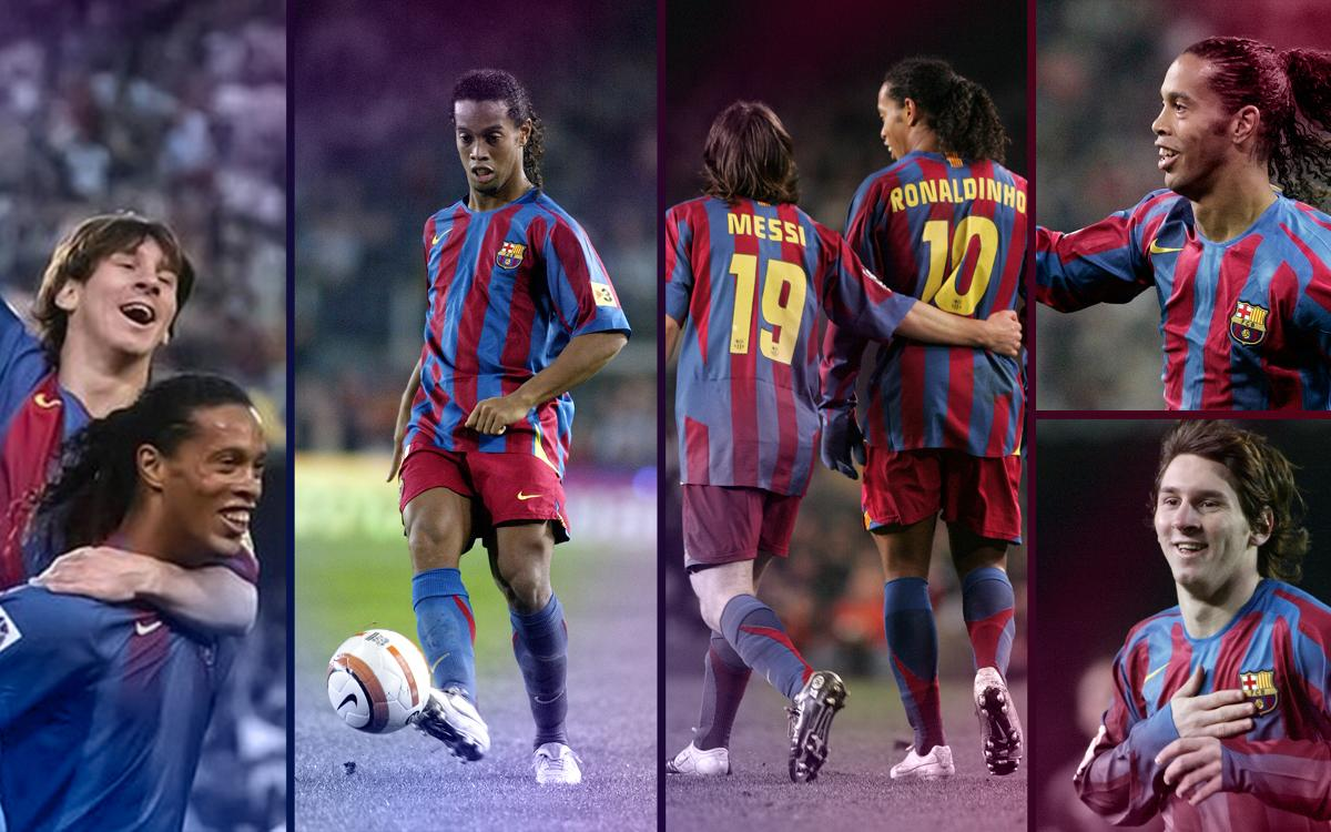 Messi and Ronaldinho, a lethal combination!