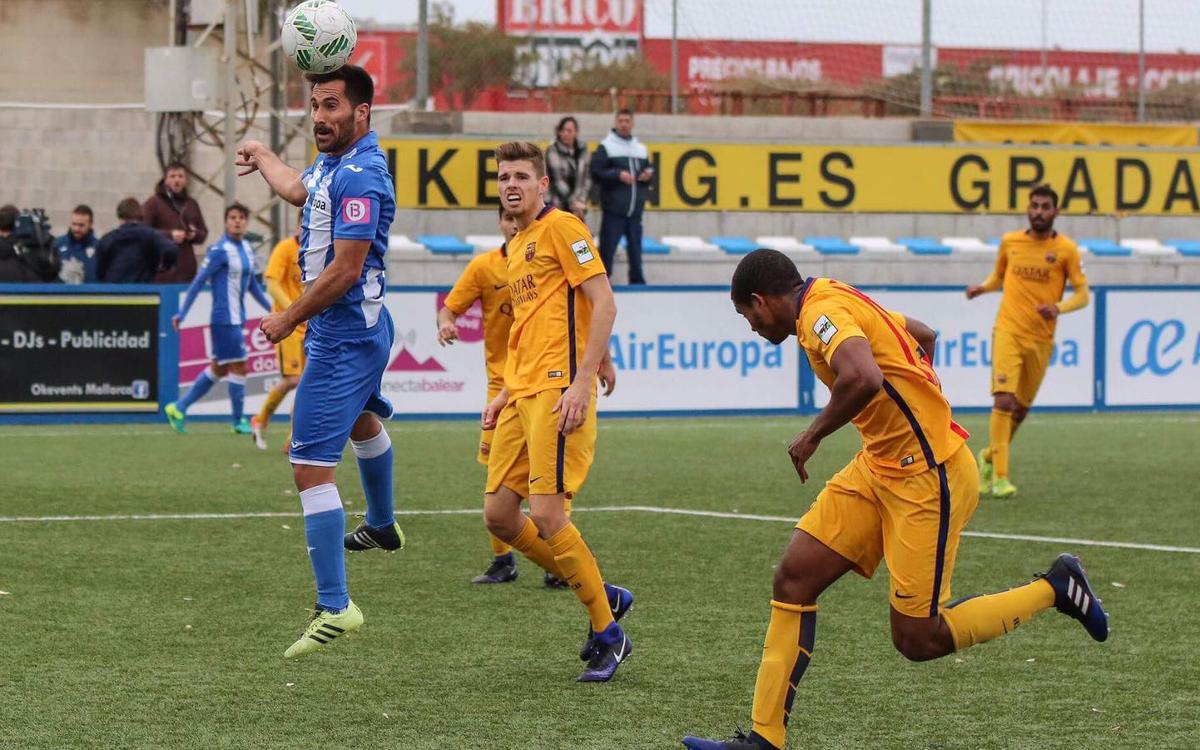 At. Balears – Barça B: Derrota ajustada en un escenari complicat (2-1)