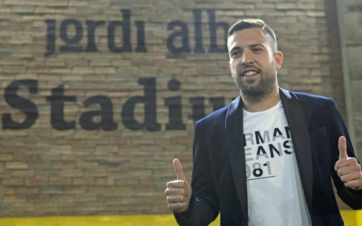 Jordi Alba: We are still alive in the title race