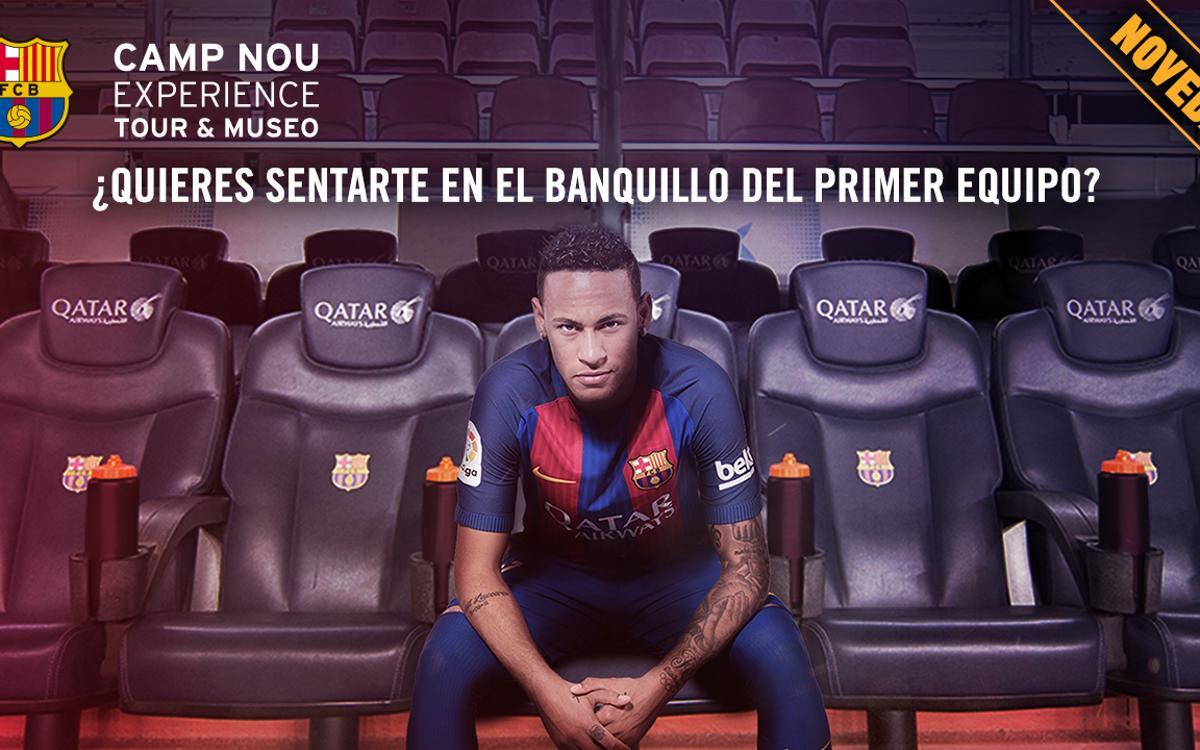 ¿Qué se siente en el banquillo del Camp Nou?