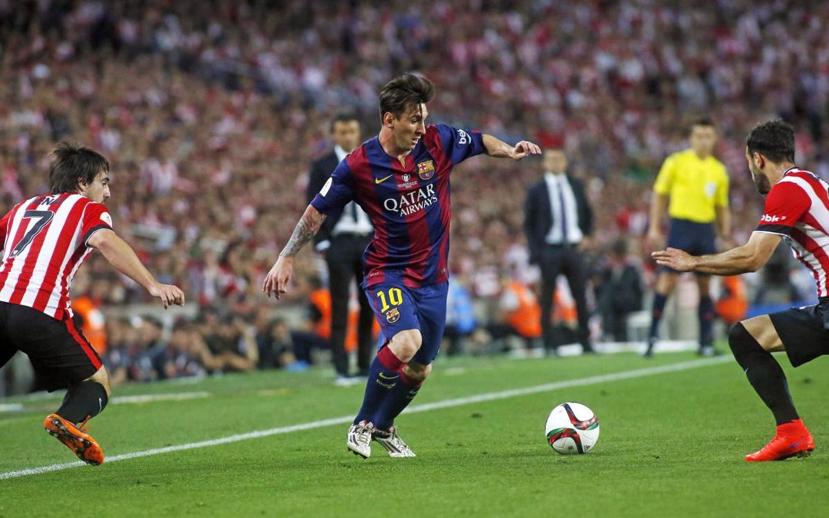 Messi's moments of magic against Athletic at the Camp Nou