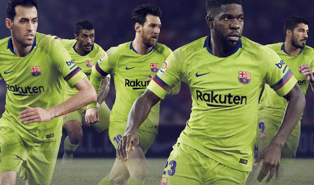 FC Barcelona to wear yellow away kit in 2018/19