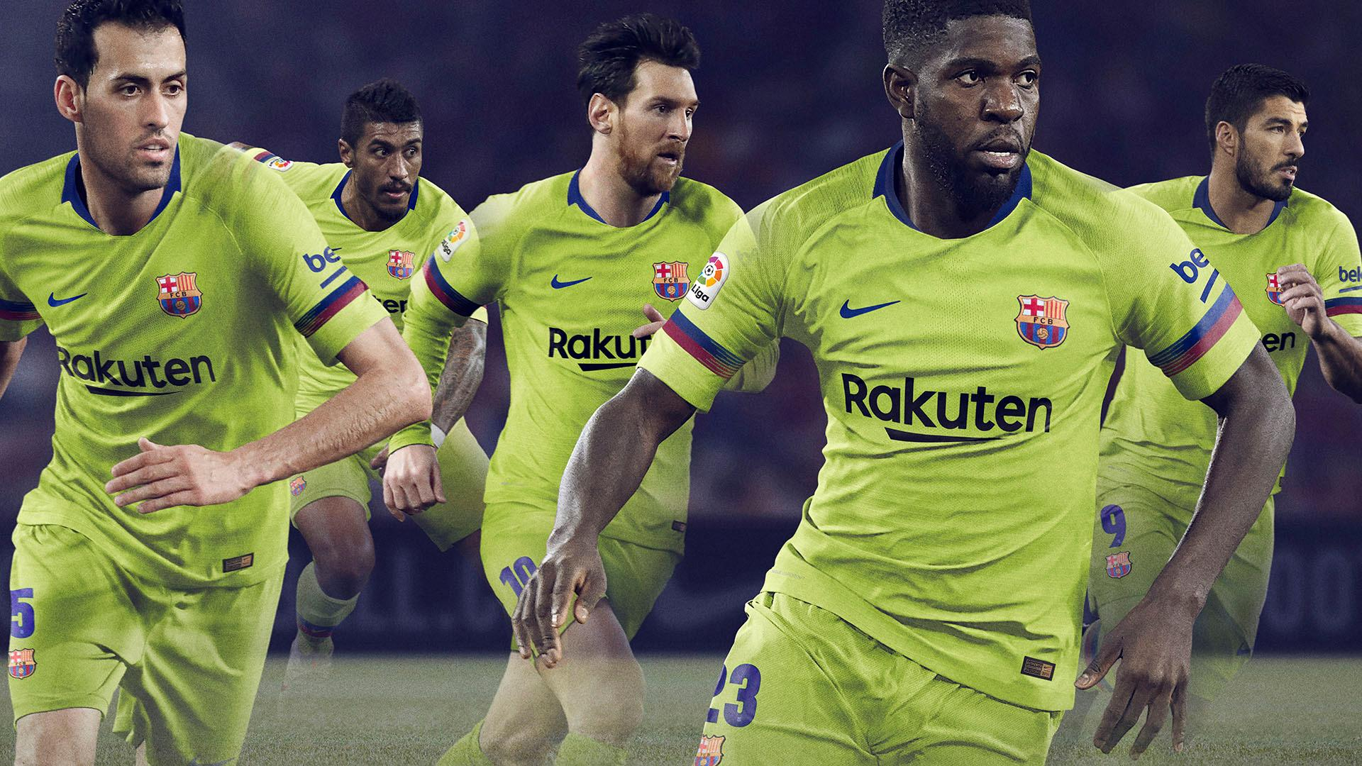 14c3f0b3e FC Barcelona to wear yellow away kit in 2018 19