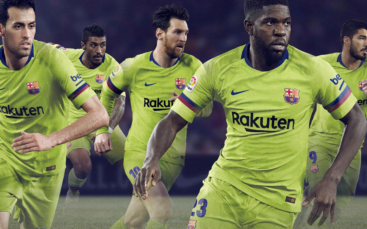 bb43f0457b FC Barcelona to wear yellow away kit in 2018 19
