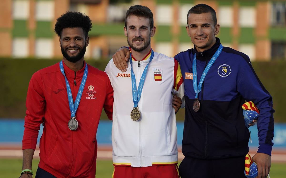 Sis medalles per als atletes del Barça en els Jocs del Mediterrani