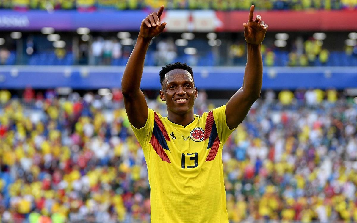 Yerry Mina, sensation in Russia
