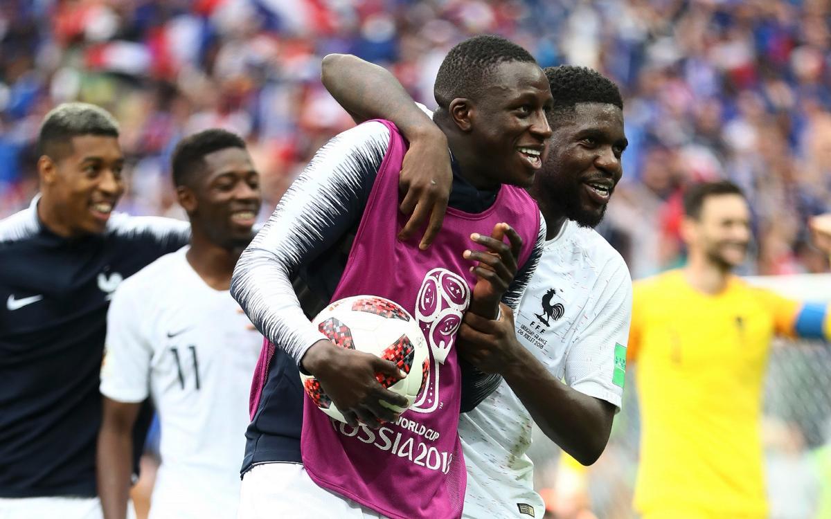 Umtiti, Dembélé y Vermaelen pasan a semifinales