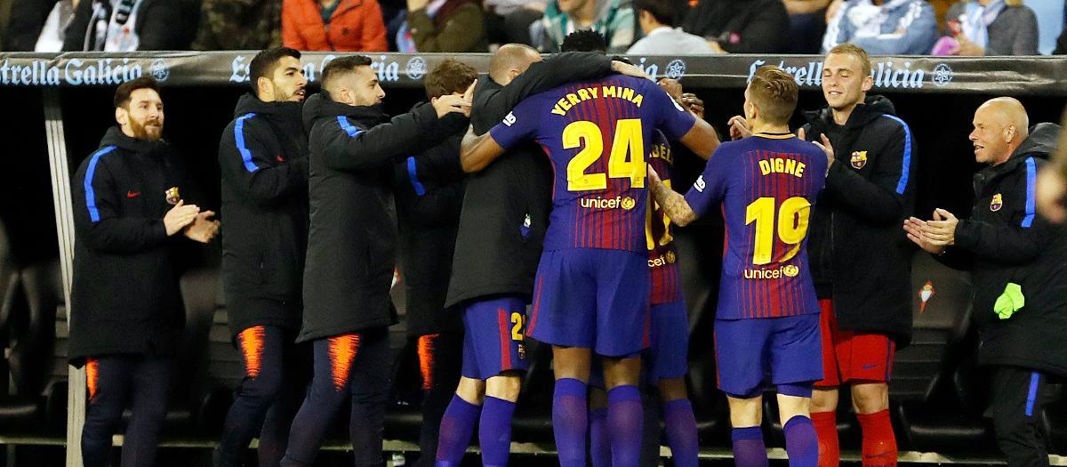 Celta Vigo 2-2 Barcelona