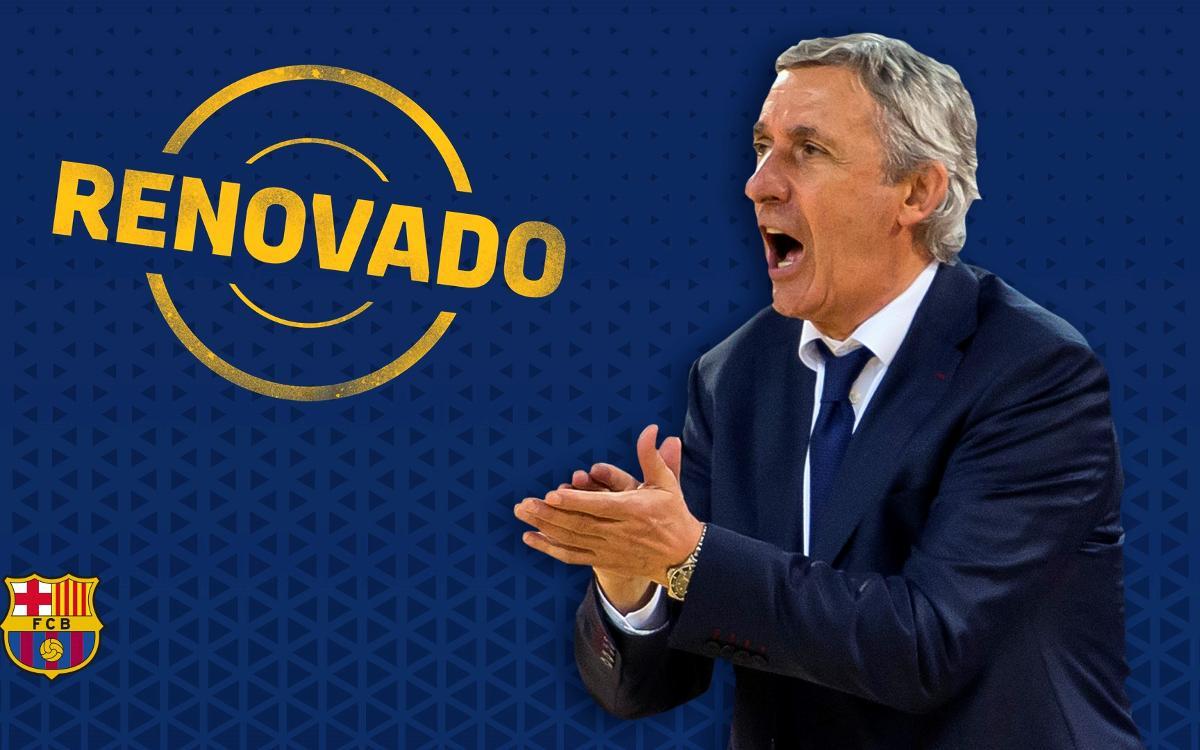 Svetislav Pesic seguirá en el Barça Lassa hasta 2019