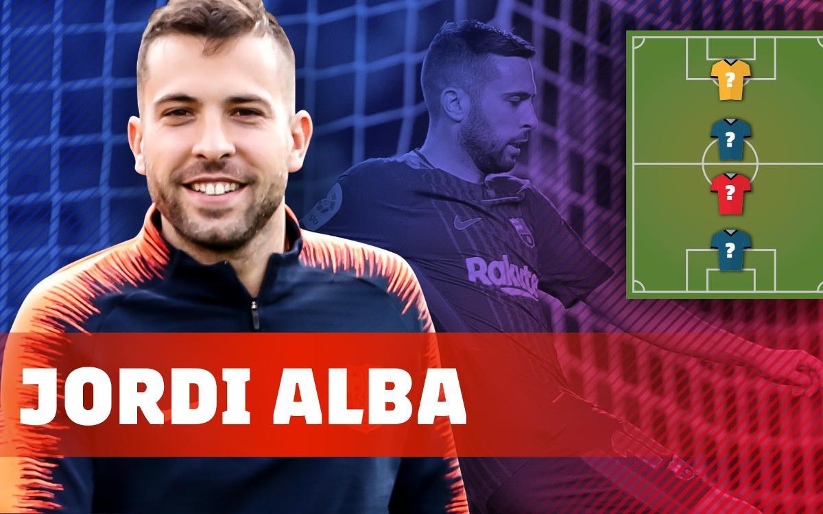 My Top 4: Jordi Alba elige a sus referentes futbolísticos