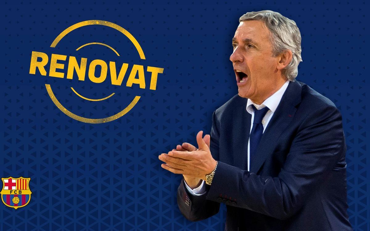 Svetislav Pesic seguirà al Barça Lassa fins al 2019