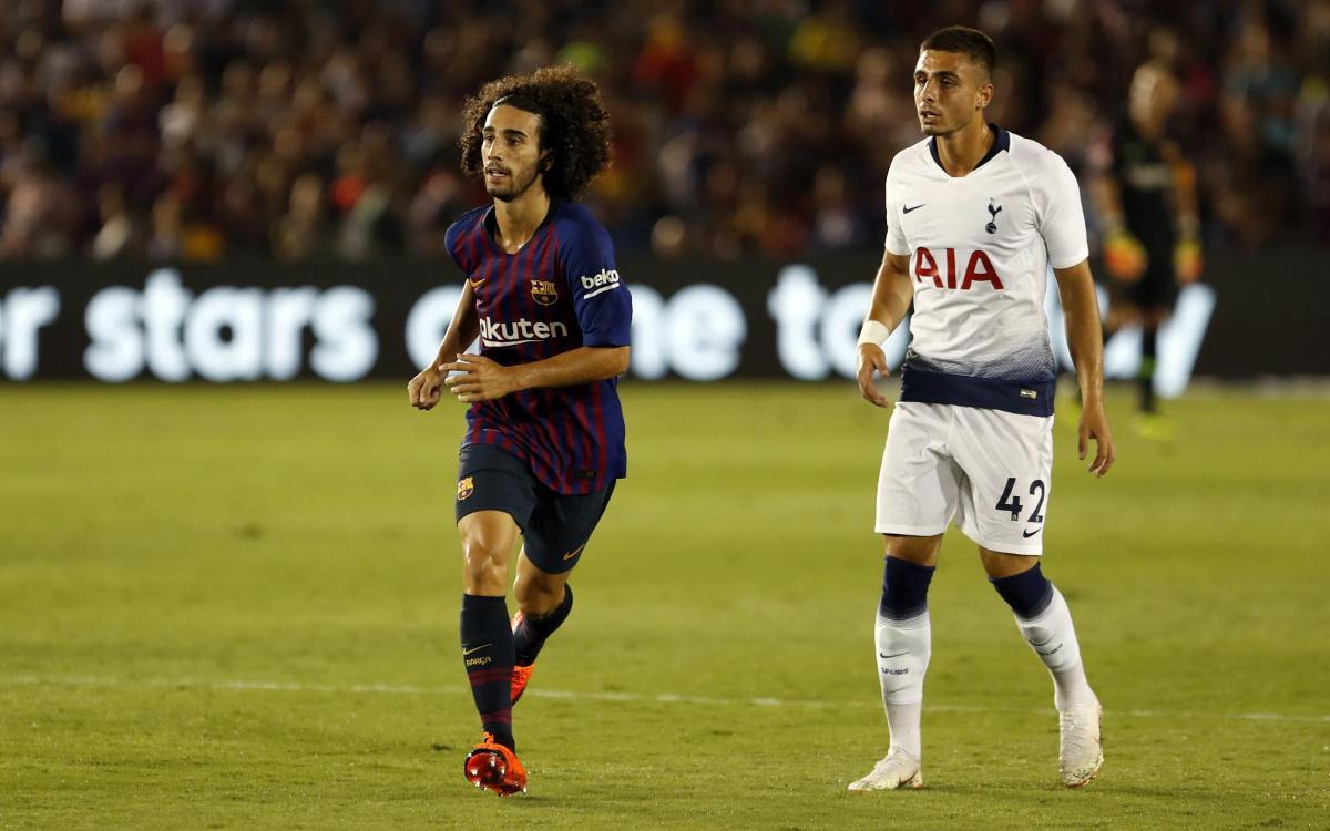 El Barça fa efectiva la clàusula de recompra de Cucurella