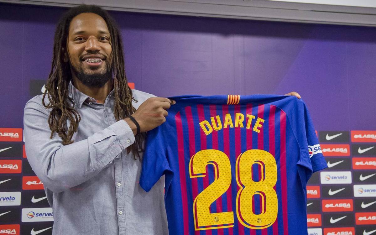 """Gilberto Duarte: """"Estic al millor equip del món"""""""