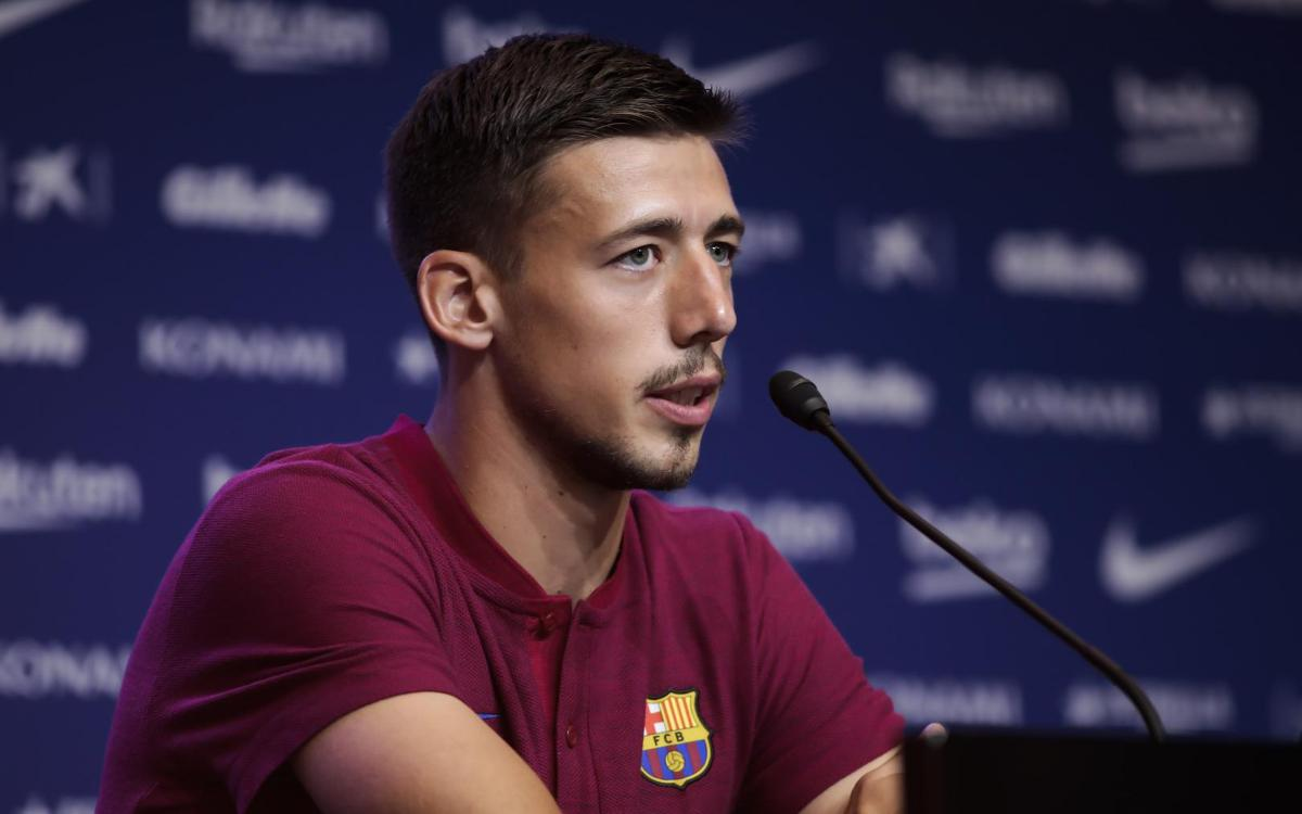 Lenglet: 'I'm here to win titles'
