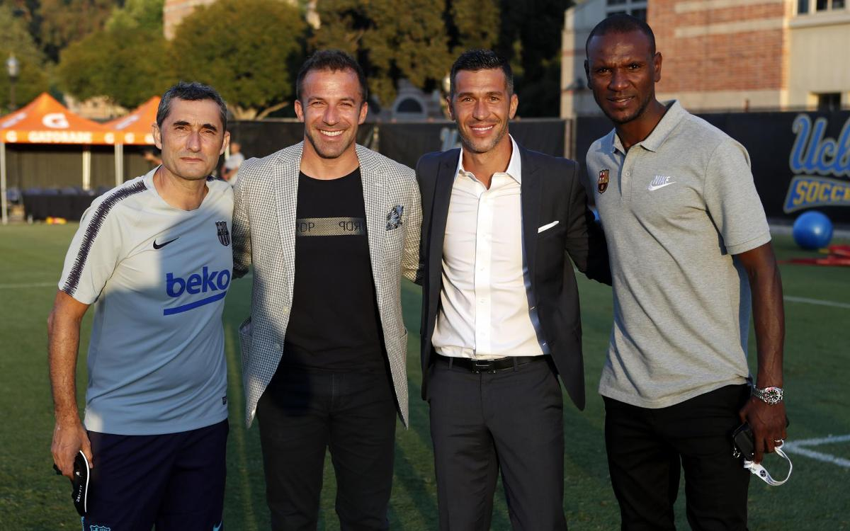 Alessandro Del Piero: 'Barça have the quality to win everything'