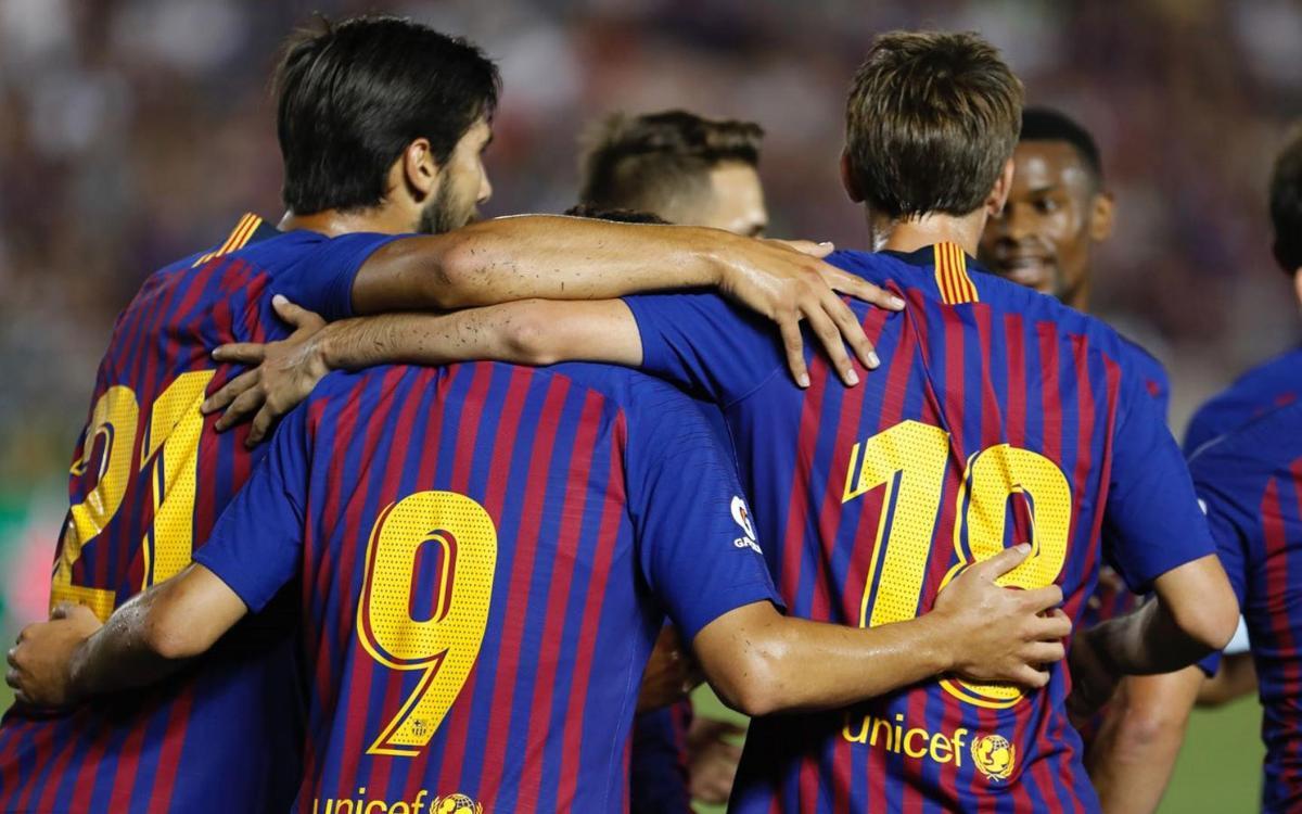 FC Barcelona – Tottenham Hotspur: Bones sensacions en l'estrena culer (2-2)