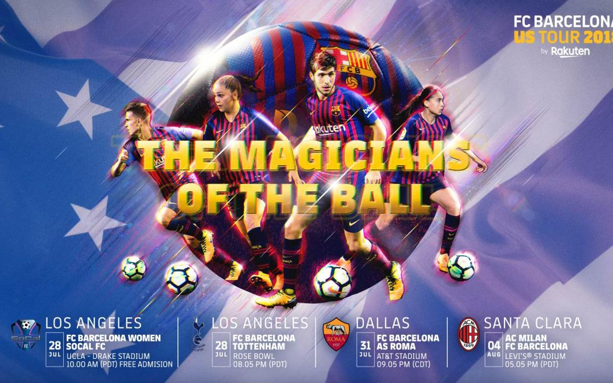The first mixed tour in Barça's history