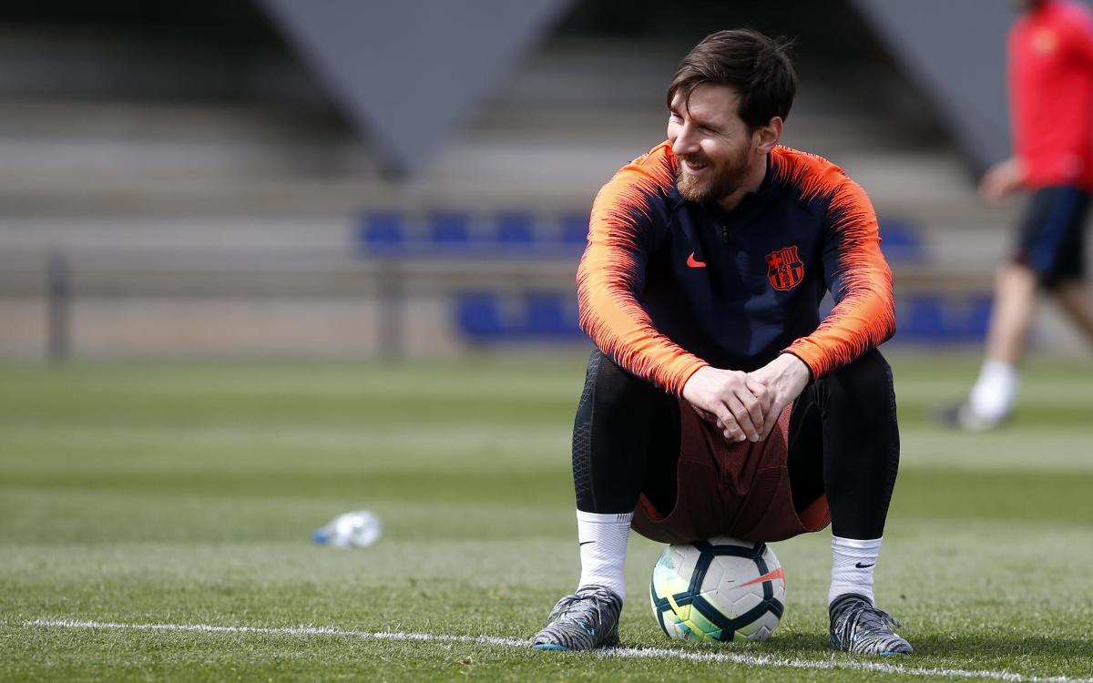 Messi, Piqué, Jordi Alba and Sergio back on Tuesday