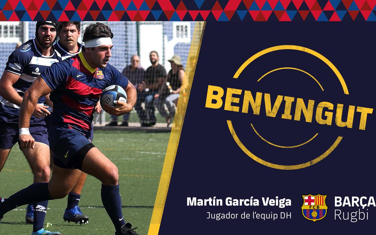 Martín García Veiga torna a Barcelona