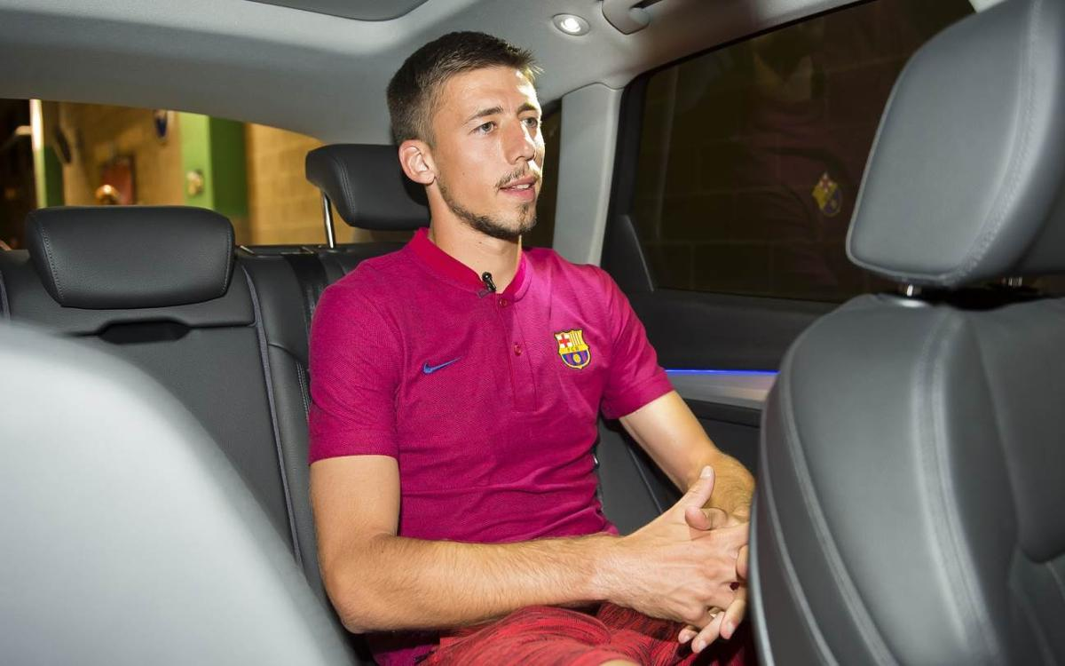In the car with...Clément Lenglet