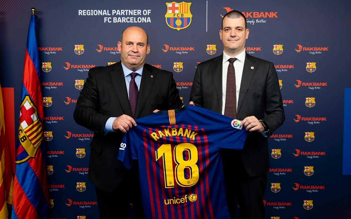 Rakbank, new regional sponsor for FC Barcelona