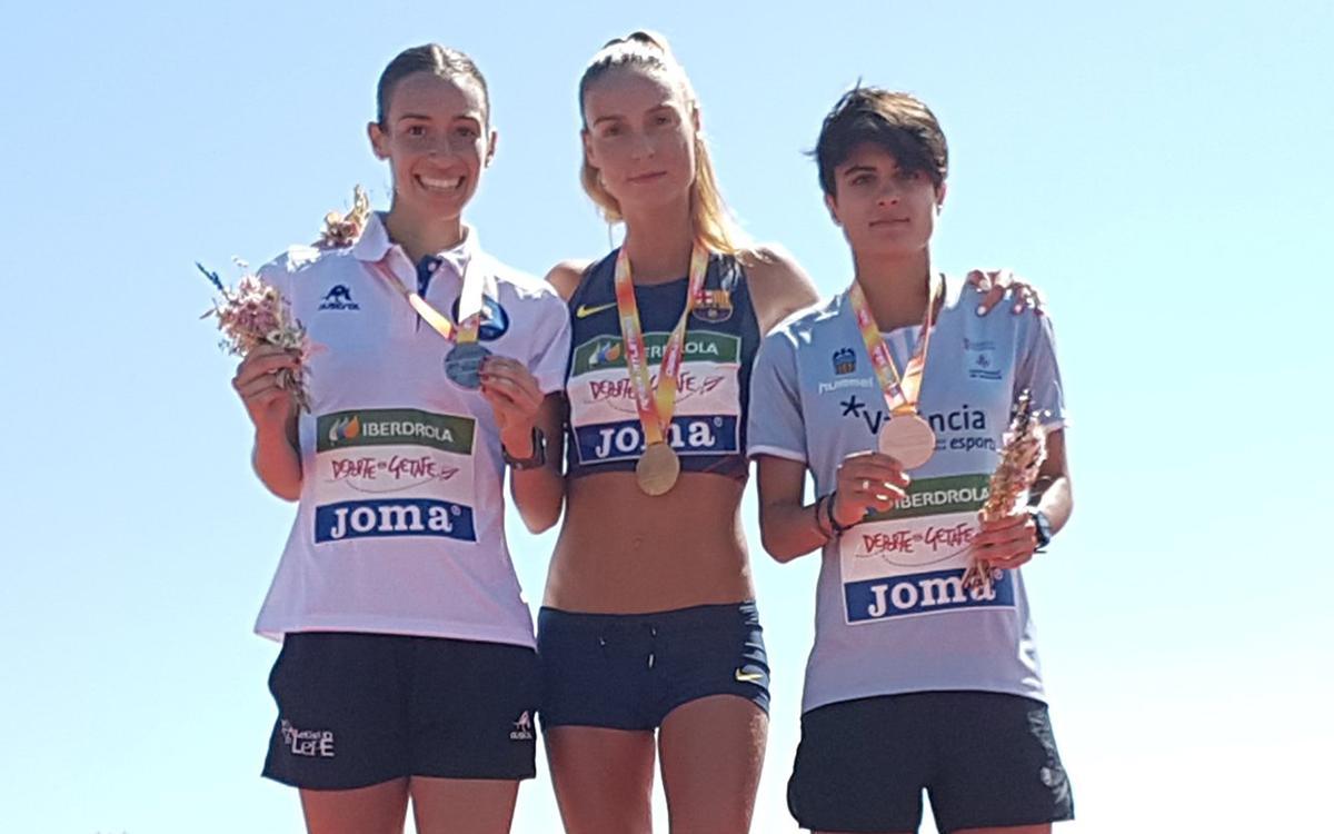 Ocho medallas para el Barça de atletismo en la primera jornada del Campeonato de España