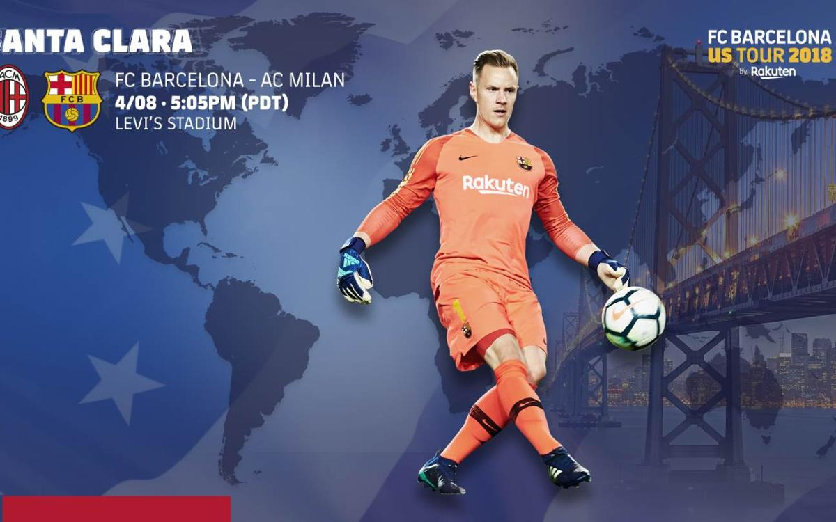 When to watch Milan - FC Barcelona