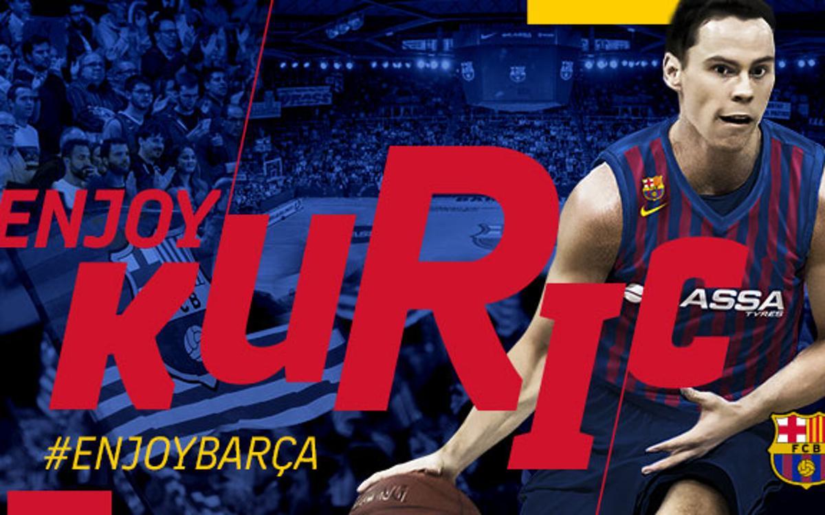 Kyle Kuric, a great scorer for Barça Lassa