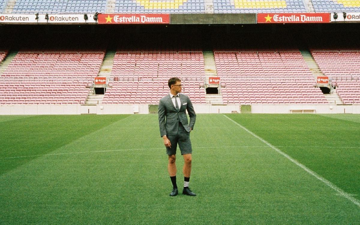 Thom Browne vestirá al primer equipo del FC Barcelona c17a27cb14b