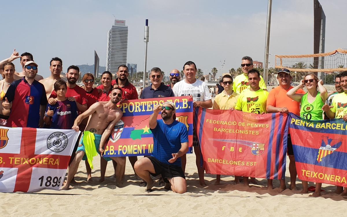 La Federación Barcelonés Este y sus peñas disfrutan de la tercera edición del Ironpenya