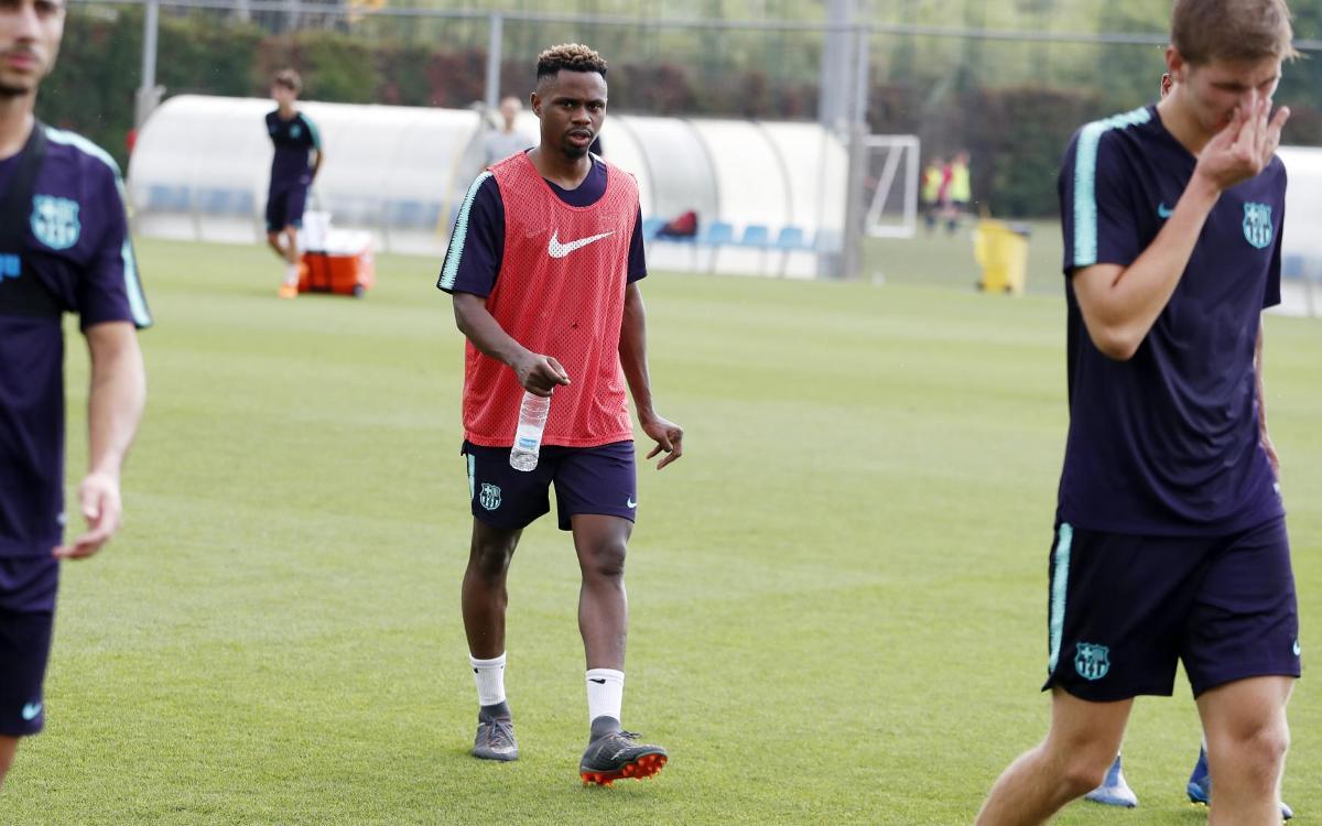 Acuerdo con el FC Vilafranca para la cesión de Braima Fati